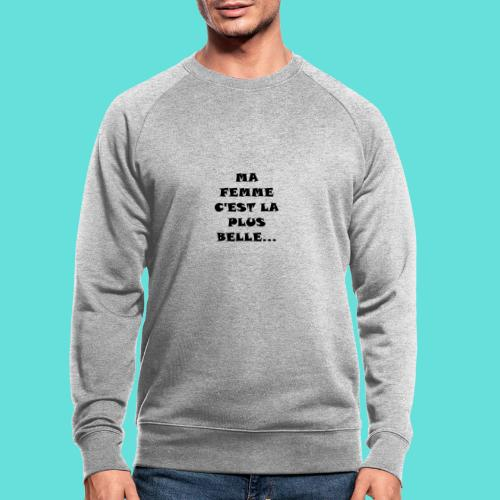 Belle femme - Sweat-shirt bio