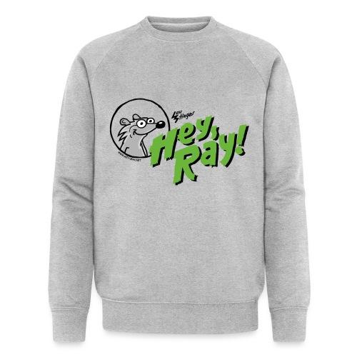 Hey Ray Logo green - Männer Bio-Sweatshirt von Stanley & Stella