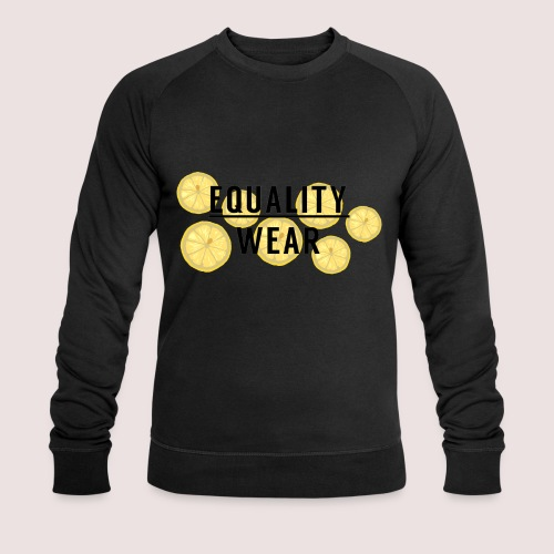 Equality Wear Fresh Lemon Edition - Men's Organic Sweatshirt by Stanley & Stella