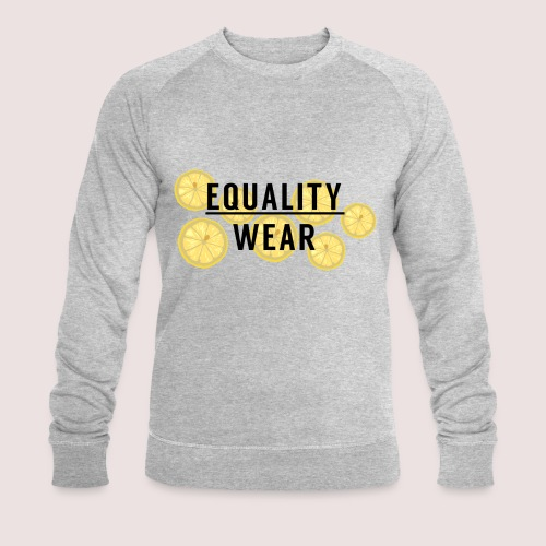 Equality Wear Fresh Lemon Edition - Men's Organic Sweatshirt by Stanley & Stella