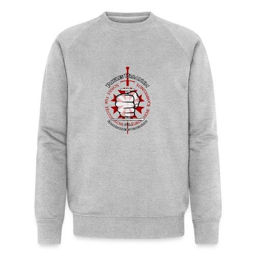 Logo frei PUR mitWa trans - Männer Bio-Sweatshirt