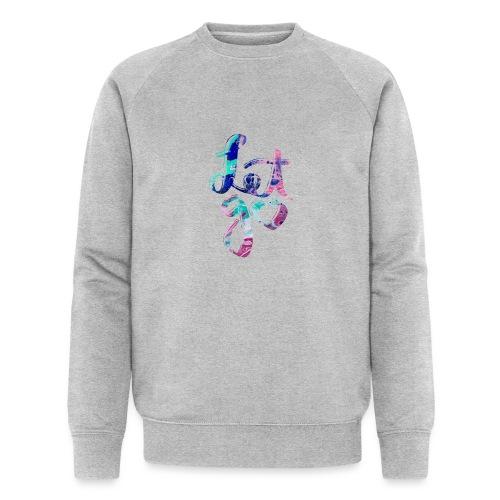 Let go fluid painting - Männer Bio-Sweatshirt von Stanley & Stella