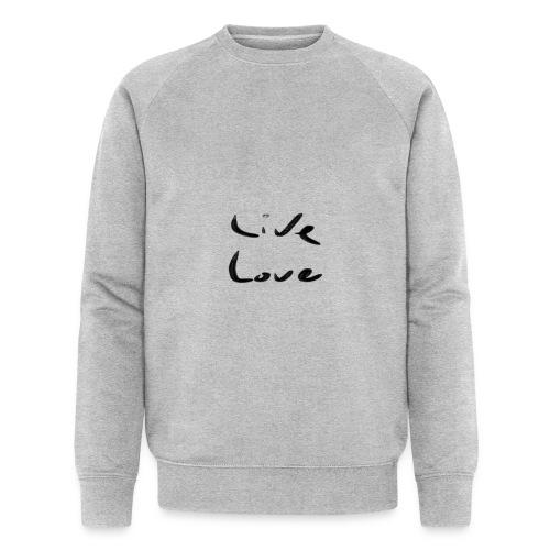 Live Love - Sweat-shirt bio Stanley & Stella Homme
