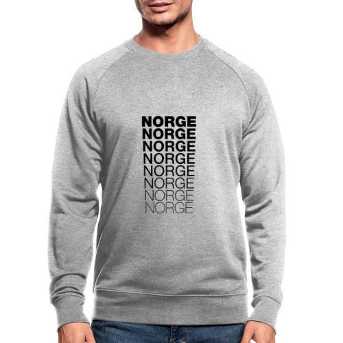 Norge Norge Norge Norge Norge Norge - Økologisk sweatshirt for menn