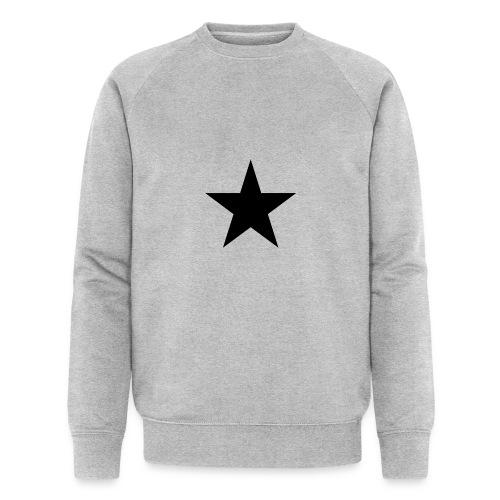 Ardrossan St.Pauli Black Star - Men's Organic Sweatshirt