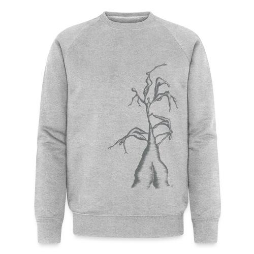 Die Zerrissenheit in grau - Männer Bio-Sweatshirt von Stanley & Stella