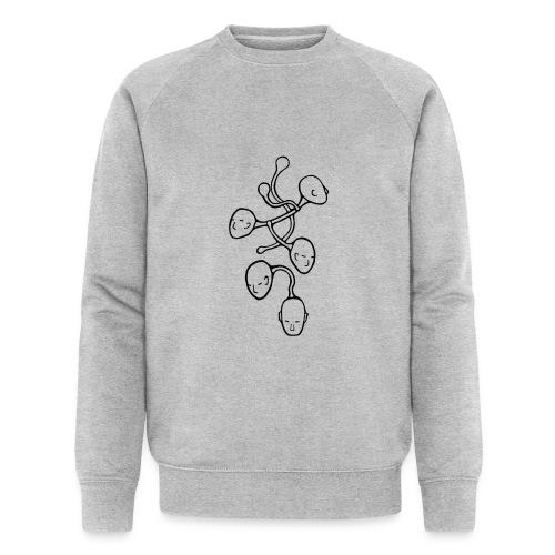 VEYM Kopfsache BLACK - Männer Bio-Sweatshirt