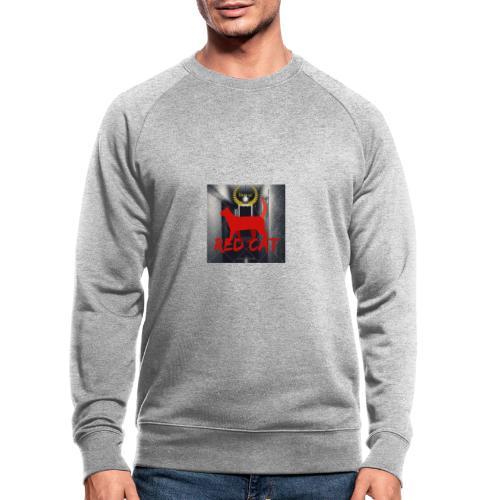 Red Cat (Deluxe) - Men's Organic Sweatshirt