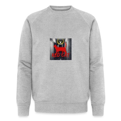 Red Cat (Deluxe) - Men's Organic Sweatshirt by Stanley & Stella