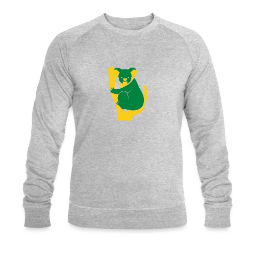 koala tree - Men's Organic Sweatshirt by Stanley & Stella