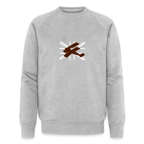 ukflagsmlWhite - Men's Organic Sweatshirt by Stanley & Stella