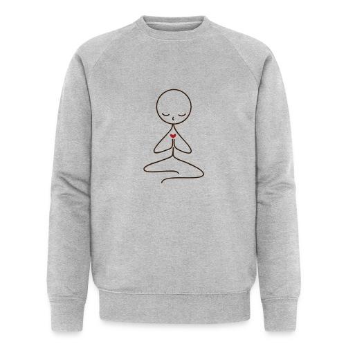 Peace & Love - Ekologisk sweatshirt herr från Stanley & Stella