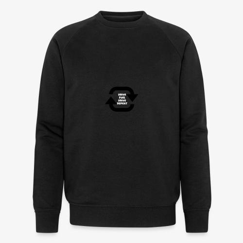 Drive fuel drive repeat - Men's Organic Sweatshirt by Stanley & Stella