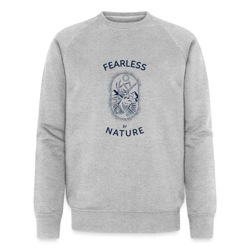 fearless by nature - Männer Bio-Sweatshirt von Stanley & Stella