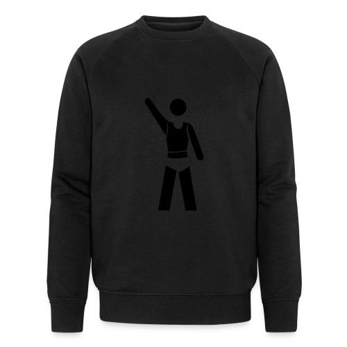 icon - Männer Bio-Sweatshirt