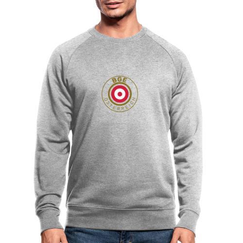 BGE in Österreich mit Fahne - Männer Bio-Sweatshirt