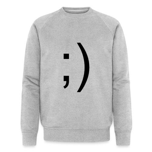 Wink Wink Smile - Men's Organic Sweatshirt by Stanley & Stella