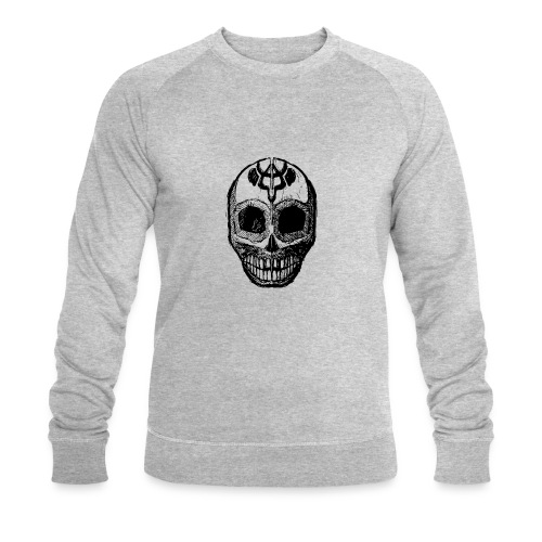 Skull of Discovery - Men's Organic Sweatshirt