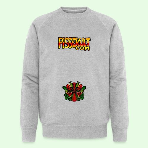 pisselogo - Økologisk sweatshirt for menn fra Stanley & Stella
