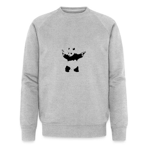oso panda pistolas - Sudadera ecológica hombre de Stanley & Stella