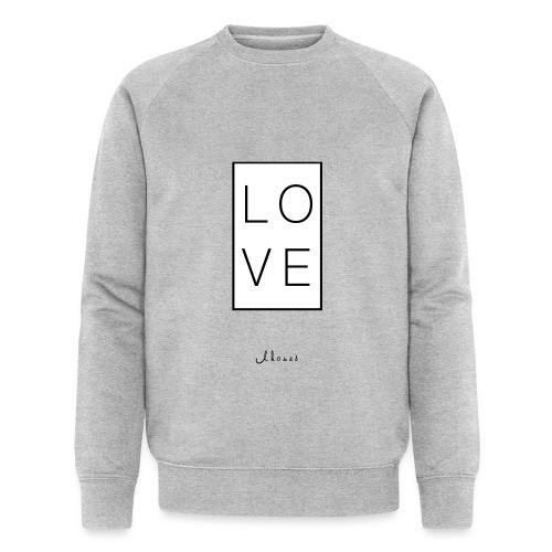 LOVE - Men's Organic Sweatshirt