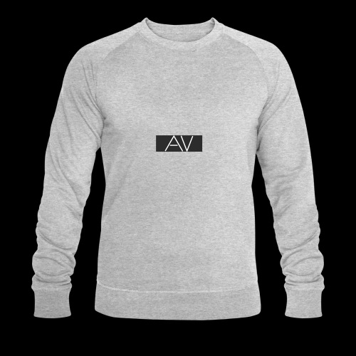 AV White - Men's Organic Sweatshirt by Stanley & Stella