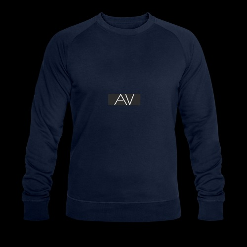 AV White - Men's Organic Sweatshirt by Stanley & Stella