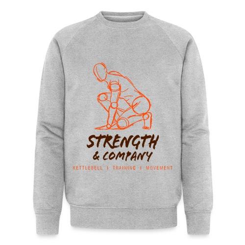 STRENGTH Company logo - Mannen bio sweatshirt van Stanley & Stella