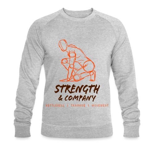 STRENGTH Company logo - Mannen bio sweatshirt