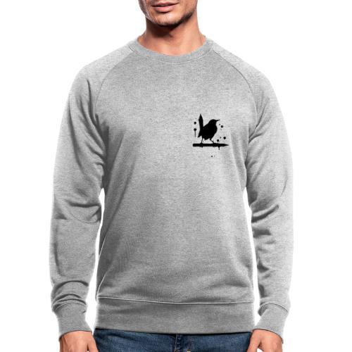 giantLeap vogel druck - Männer Bio-Sweatshirt