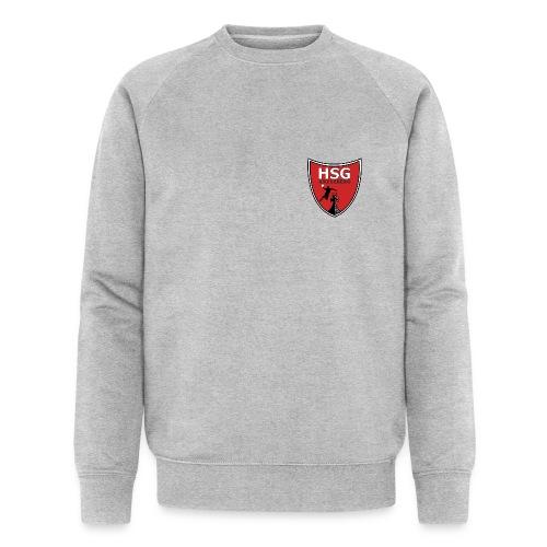 hsg wappen rot - Männer Bio-Sweatshirt