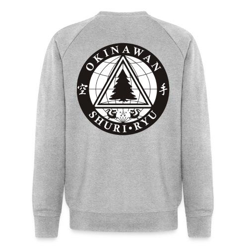 Instruktør mærke Ryg placering - Økologisk sweatshirt til herrer