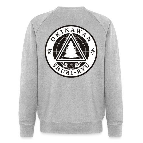 Klubmærke Ryg placering - Økologisk sweatshirt til herrer