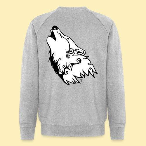 Le Loup de Neved (version blanche) - Sweat-shirt bio Stanley & Stella Homme