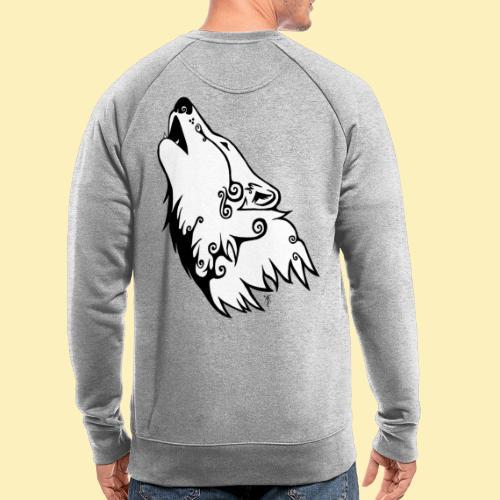 Le Loup de Neved (version blanche) - Sweat-shirt bio