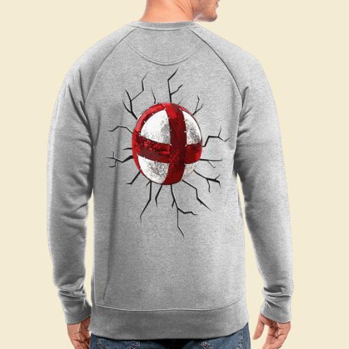 Radball | Cycle Ball Crash - Männer Bio-Sweatshirt