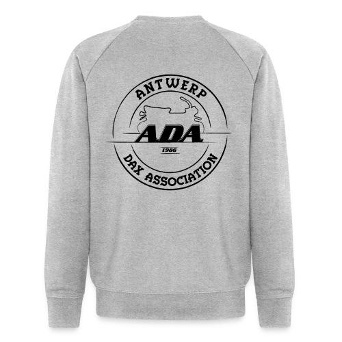ADA DAX Logo Groot Zwart - Mannen bio sweatshirt van Stanley & Stella