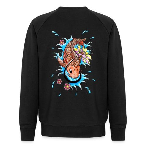 Koi Fish - Men's Organic Sweatshirt by Stanley & Stella