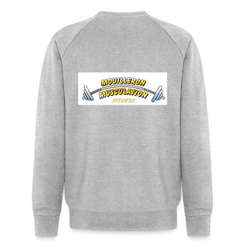mouilleron muscu logo pour tee shirt 311 - Sweat-shirt bio