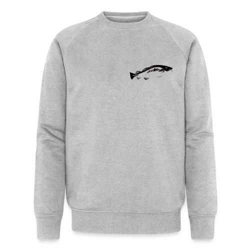 Skrei med kart2018 - Økologisk sweatshirt for menn fra Stanley & Stella