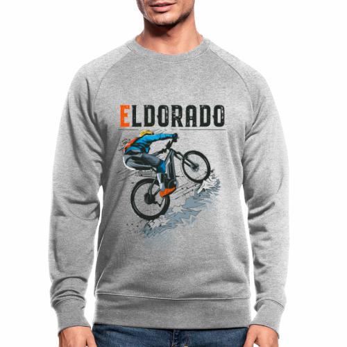E MTB ELDORADO - Männer Bio-Sweatshirt