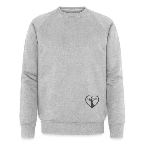 chooselove qu 1c symbol grau png - Männer Bio-Sweatshirt von Stanley & Stella