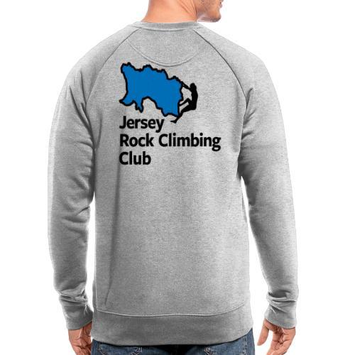 Club Logo - Stacked [Black] - Men's Organic Sweatshirt