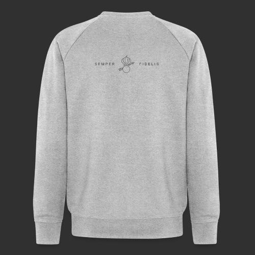 Grenadier Banner - Männer Bio-Sweatshirt