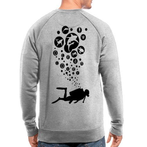 The Scuba Diver - Le plongeur - Sweat-shirt bio
