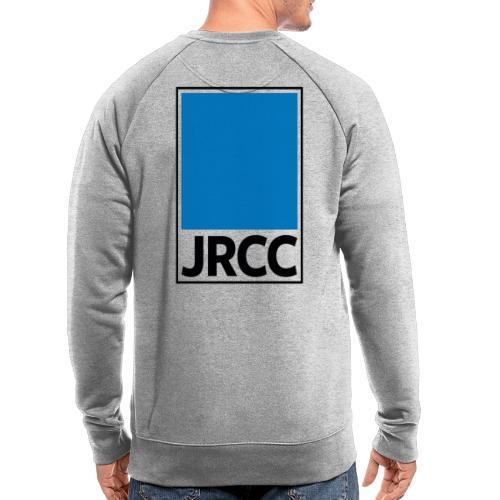 Bloc Logo - Stacked [Black] - Men's Organic Sweatshirt