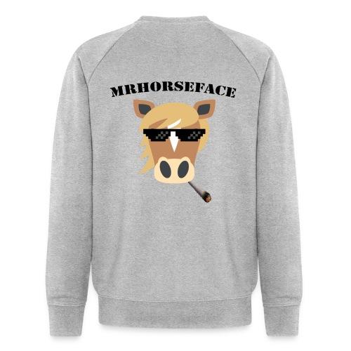 MrHorseFace - Mannen bio sweatshirt