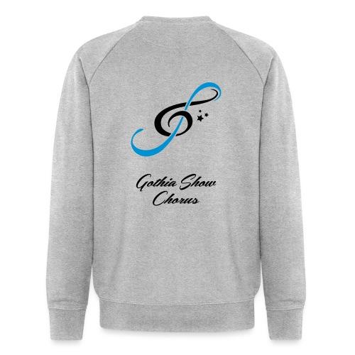 GothiaShowChorus LOGGO Blå svart - Ekologisk sweatshirt herr från Stanley & Stella