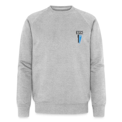 ESID Zwart-blauw - Mannen bio sweatshirt van Stanley & Stella
