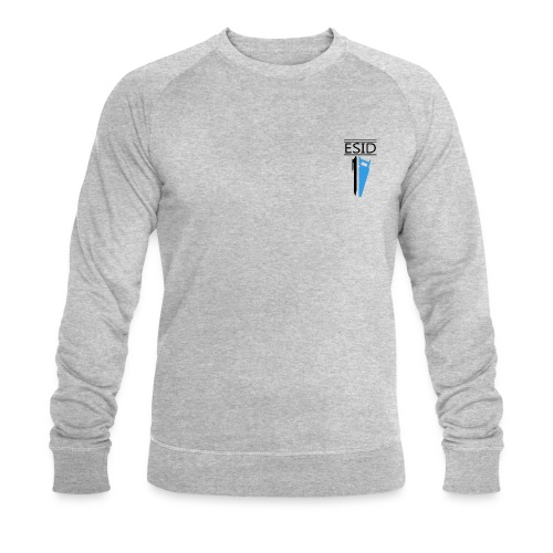 ESID Zwart-blauw - Mannen bio sweatshirt